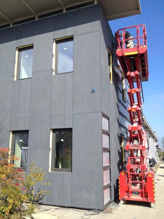 Facciate ventilate per la finitura di edifici civili, industriali o commerciali